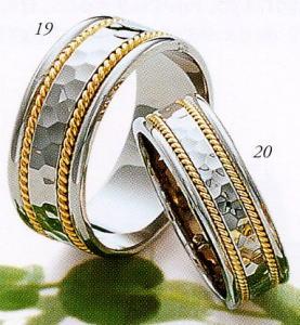 ★Tresoro【トレソロ】(19)17K52&(20)17F52(2本セット)マリッジリング・結婚指輪・ペアリング