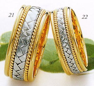 ★Tresoro【トレソロ】(21)16K02&(22)16F02(2本セット)マリッジリング・結婚指輪・ペアリング