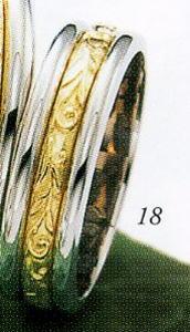 ★Tresoro【トレソロ】(18)11D71 wide 5.0mmマリッジリング・結婚指輪・ペアリング用(1本)