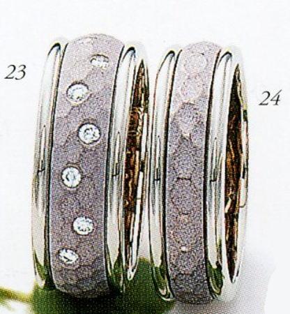 ★Tresoro【トレソロ】(23)206G80&(24)88E72(2本セット)マリッジリング・結婚指輪・ペアリング