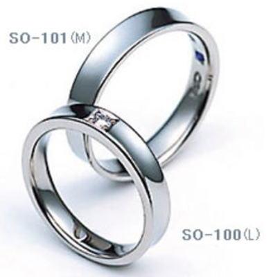 ★【お得な卸直営店価格はお問合せ下さい】★SAINTE ORO 【セントオーロ】SO-100&SO-101=(2本セット定価)マリッジリング、結婚指輪、ペアリング