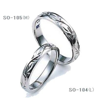 ★【お得な卸直営店価格はお問合せ下さい】★SAINTE ORO 【セントオーロ】SO-105(WIDE)&SO-104(SLIM)=(2本セット定価)マリッジリング、結婚指輪、ペアリング