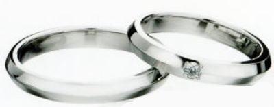 ★LAZARE DIAMOND【ラザールキャプラン・ラザールダイヤモンド】(1)LG003&(2)LG004(2本セット定価)PT-999マリッジリング・結婚指輪・ペアリング