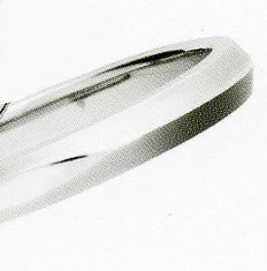 LAZARE DIAMOND ラザールキャプラン・ラザールダイヤモンド8 LG007PT 999マリッジリング・結婚指輪・ペアリング用 1本Pk80nwO