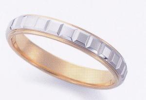 ★お買い得特別価格!!★EBP-14M Enbrasser Purest(アンブラッセ ピュアレスト 純プラチナ Pt-999)& 純金 (K24-999)マリッジリング、結婚指輪、ペアリング用(1本)