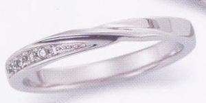 ★お買い得特別価格!!★EBP-18L(ダイヤ付)Enbrasser Purest(アンブラッセ ピュアレスト 純プラチナ Pt-999)マリッジリング、結婚指輪、ペアリング用(1本)