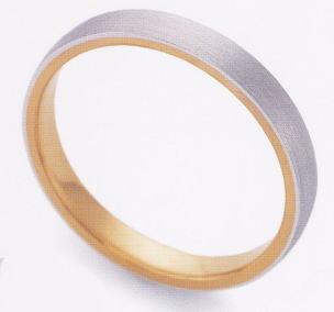 ★お買い得特別価格!!★EBP-5MEnbrasser Purest(アンブラッセ ピュアレスト 純プラチナ Pt-999)/純金 K24-999マリッジリング、結婚指輪、ペアリング用(1本)