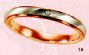 ★【卸直営店をお得な特別割引価格★Angerosa(アンジェローザ)(30)AR-510(L), PT900/K18PG マリッジリング、結婚指輪、ペアリング用(1本)