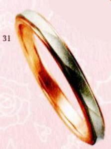 ★【卸直営店をお得な特別割引価格★Angerosa(アンジェローザ)(31)AR-511(M), PT900/K18PG マリッジリング、結婚指輪、ペアリング用(1本)