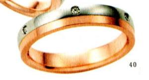 ★【卸直営店のお得な特別割引価格★Angerosa(アンジェローザ)(40)AR-503(L), Pt900/K18PG マリッジリング、結婚指輪、ペアリング用(1本)