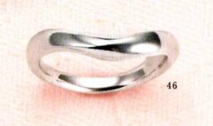 ★【卸直営店のお得な特別割引価格★Angerosa(アンジェローザ)(46)AR-101W(L), Pt900 マリッジリング、結婚指輪、ペアリング用(1本)