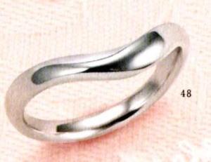 ★【卸直営店のお得な特別割引価格★Angerosa(アンジェローザ)(48)AR-101M(M), Pt900 マリッジリング、結婚指輪、ペアリング用(1本)