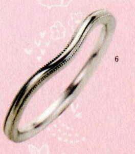 ★【卸直営店のお得な特別割引価格★Angerosa(アンジェローザ)(6)AR-006(L), Pt900マリッジリング、結婚指輪、ペアリング用(1本)