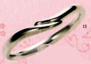 ★【卸直営店のお得な特別割引価格★Angerosa(アンジェローザ)(13)AR-013(M), Pt900 マリッジリング、結婚指輪、ペアリング用(1本)