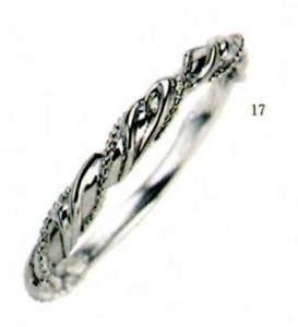 ★【卸直営店のお得な特別割引価格★Angerosa(アンジェローザ)(17)AR-017(M) Pt900 マリッジリング、結婚指輪、ペアリング用(1本)