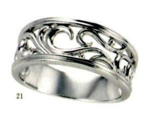 ★【卸直営店のお得な特別割引価格★Angerosa(アンジェローザ)(21)AR-021(M), Pt900 マリッジリング、結婚指輪、ペアリング用(1本)