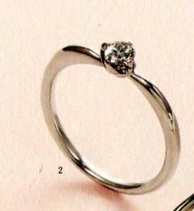 ★【卸直営店のお得な特別割引価格★Angerosa(アンジェローザ)(2)AR-002, Pt900エンゲージリング、婚約指輪