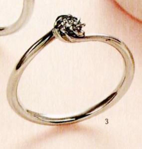 ★【卸直営店のお得な特別割引価格★Angerosa(アンジェローザ)(3)AR-003, Pt900エンゲージリング、婚約指輪