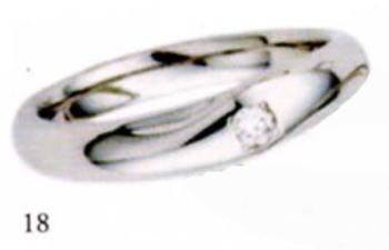★【卸直営店のお得な特別割引価格はお問合せ下さい!!】★★ANGE 【アンジュ】POUR de VRAI【プルドブレ】マリッジリング、結婚指輪,ペアーリング用(1本)(18)5610028(ダイヤ)