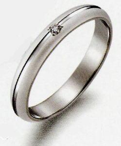 True Love トゥルーラブ16P314D 2 ダイヤ 卸直営店 お得な特別割引価格 Pt900 プラチナ マリッジリング 結婚指輪 ペアリング 1本wnPNk80OX