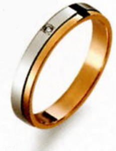 True Love トゥルーラブ (28) M370D-2 ダイヤ 卸直営店 お得な特別割引価格 Pt900 プラチナ & K18PG ピンクゴールド マリッジリング 結婚指輪 ペアリング(1本)