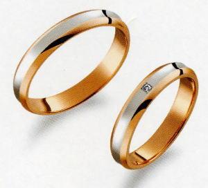 True Love トゥルーラブ 31 M374-2 & 32 M374D-2 ダイヤ =2本セット 卸直営店 お得な特別割引価格 Pt900 プラチナ & K18PG ピンクゴールド マリッジリング 結婚指輪 ペアリング