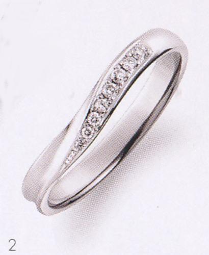 True Love トゥルーラブ (2) P701D-3 ダイヤ 卸直営店 お得な特別割引価格 Pt900 プラチナ マリッジリング 結婚指輪 ペアリング(1本)