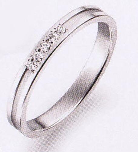True Love トゥルーラブ (4) P702D ダイヤ 卸直営店 お得な特別割引価格 Pt900 プラチナ マリッジリング 結婚指輪 ペアリング(1本)