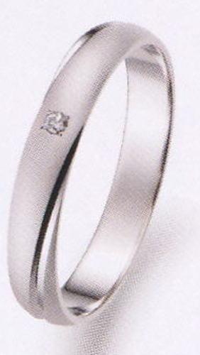 True Love トゥルーラブ (26) P273D ダイヤ 卸直営店 お得な特別割引価格 Pt900 プラチナ マリッジリング 結婚指輪 ペアリング (1本)