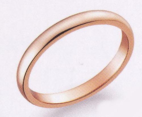 True Love トゥルーラブ (47) K007P-3 卸直営店 お得な特別割引価格 K18PG ピンクゴールド マリッジリング 結婚指輪 ペアリング(1本)