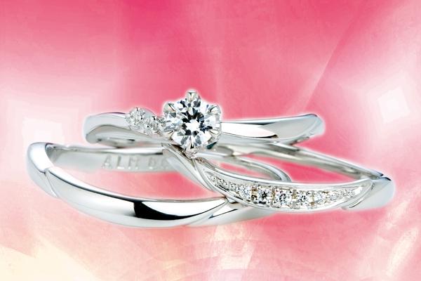 0.3ct.ダイヤモンド婚約指輪(エンゲージリング)/結婚指輪(マリッジリング)3本セットPRF025-03(エーデルワイズ)【当店のオリジナル製品】
