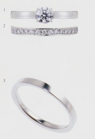 0.5ct.ダイヤモンド婚約指輪 エンゲージリング 結婚指輪 マリッジリング 3本セットNo.L-1 SET 当店のオリジナル製品 あす楽(翌日配送)について 通販 米寿祝 法要 誕生日 快気祝