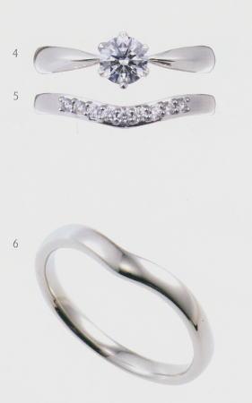 0.25ct.ダイヤモンド婚約指輪(エンゲージリング)/結婚指輪(マリッジリング)3本セットNo.L-3 SET【当店のオリジナル製品】