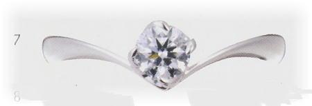 0.25ct.ダイヤモンド婚約指輪(エンゲージリング)No.L-21【当店のオリジナル製品】