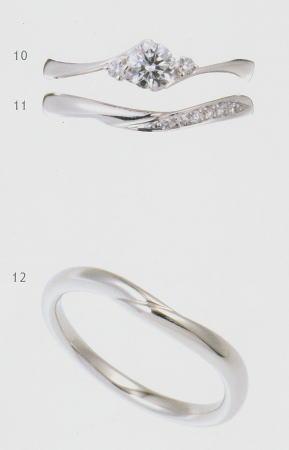 0.25ct.ダイヤモンド婚約指輪(エンゲージリング)/結婚指輪(マリッジリング)3本セットNo.L-20 SET【当店のオリジナル製品】