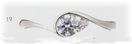 0.3ct.ダイヤモンド婚約指輪(エンゲージリング)No.L-22-03【当店のオリジナル製品】