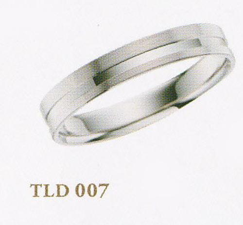 ★Tous Les Deux〔トゥレドゥ〕【Pd990新素材パラジウム・ジュエリー】TLD007マリッジリング・結婚指輪・ペアリング用(1本)