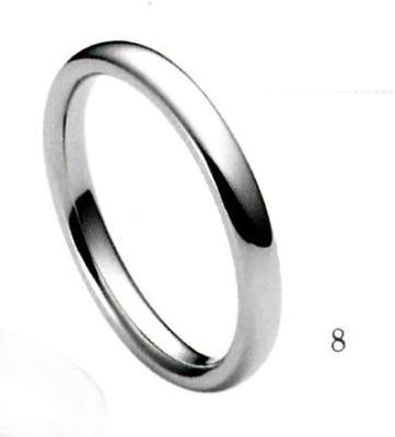 ★【卸直営店(お得な特別割引価格)】★A DEUX (ア ドゥー)【Pd950新素材パラジウム・ジュエリー】【8】15-2000マリッジリング・結婚指輪・ペアリング