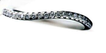 ★お買得情報があります???★Something BlueサムシングブルーSBE018(2/3エタニティ)Pt950マリッジリング、結婚指輪