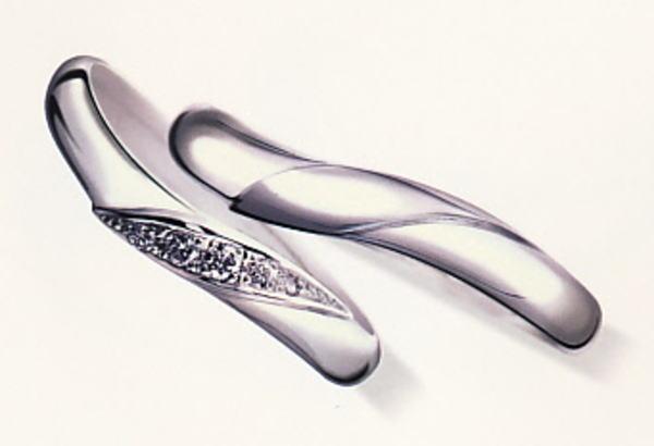★お買得情報があります???★Something BlueサムシングブルーSB-860-b2&SB-859-b2マリッジリング、結婚指輪(2本)