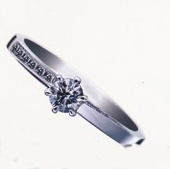 ★お買得情報があります??★Something BlueサムシングブルーSBE020ピンクダイヤ入りPt950エンゲージリング、婚約指輪