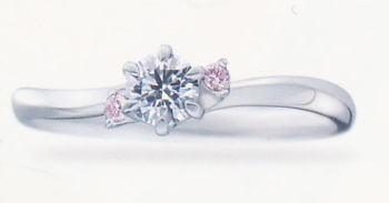 ★お買得情報があります???!!★Something BlueサムシングブルーSBE022エンゲージリング、婚約指輪