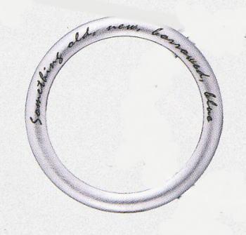 ★お買い得な情報あります???★サムシングブルー Fortune Spell SB-868(ツヤ消し・黒文字の刻印)マリッジリング・結婚指輪・ペアリング(1本)