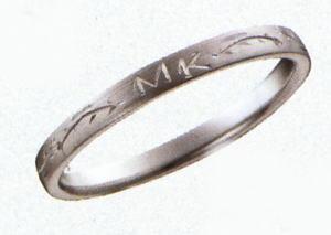 ★お買い得の情報あります???★サムシングブルー 新製品 SB-831マリッジリング・結婚指輪・ペアリング(1本)