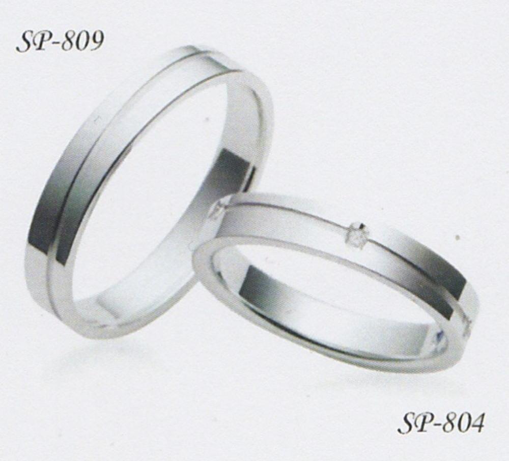 ★お買い得情報があります???★サムシングブルー Something Blue SP-804&SP-809(2本セット定価)マリッジリング・結婚指輪・ペアリング