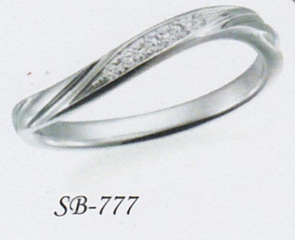 ★お買い得な情報があります???★サムシングブルー Something Blue SB-777マリッジリング・結婚指輪・ペアリング(1本)