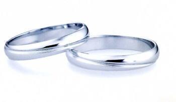 ★【卸直営店のお得な特別割引価格】★ et toi エトワ PR08W & PR08M Pt900 プラチナ マリッジリング 結婚指輪 ペアリング (2本)