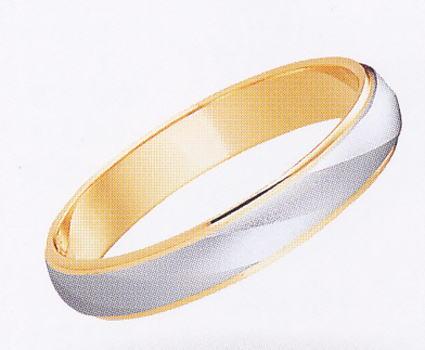 ★【卸直営店のお得な特別割引価格】★ et toi エトワ PR01W-3 Pt900/K18YG マリッジリング 結婚指輪 ペアリング (1本)
