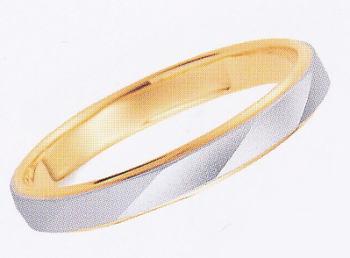 ★【卸直営店のお得な特別割引価格】★ et toi エトワ B031W-2 Pt900/K18YG マリッジリング 結婚指輪 ペアリング (1本)