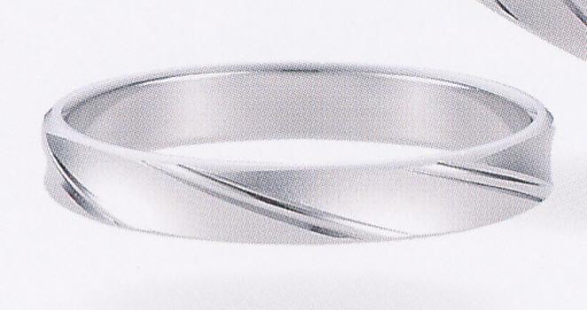 ★【卸直営店の(お得な特別割引価格)】★ et toi エトワ PR09M-2 Pt900 プラチナ マリッジリング 結婚指輪 ペアリング (1本)